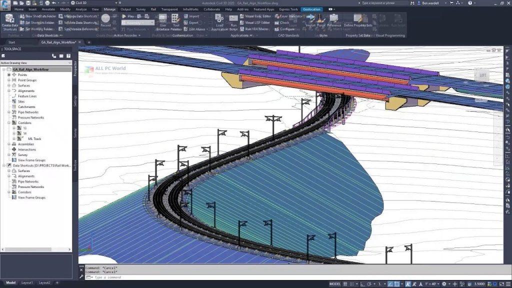 Autodesk-AutoCAD-Civil-3D-2020 crack