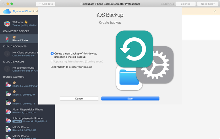 iPhone-Backup-Extractor key