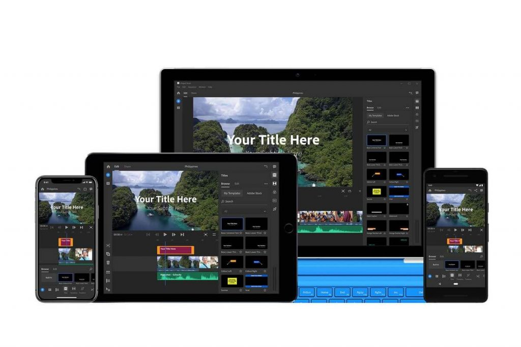 Adobe Premiere Rush APK Mod