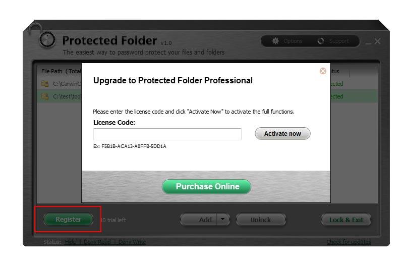 IObit Protected Folder Serial Key