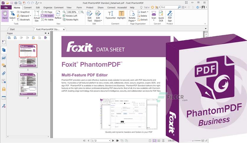 foxit phantompdf free